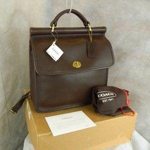 Coach Vintage RARE Willis Back Pack Bag #9152! NEW